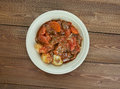 Potjiekos stew in south africa Stock Photos