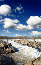Potomac River Great Falls National Park Stock Photo