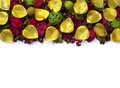 Potpourri Border Royalty Free Stock Photo