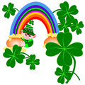 Pots of gold Stock Images