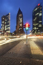 Potsdamer platz berlin germany at dawn Royalty Free Stock Photo