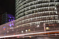 Potsdamer Platz in Berlin at night Royalty Free Stock Photos