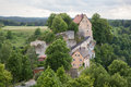 Pottenstein castle in bavaria germany Stock Images