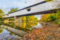 Potters Covered Bridge Royalty Free Stock Photo