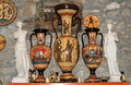 Pottery by making copies of ancient Greek vases Royalty Free Stock Photo