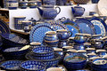 Pottery on the market Royalty Free Stock Photo