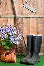 In The Potting Shed Royalty Free Stock Photography