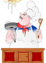 Poultice cook! Royalty Free Stock Photo