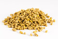 Poultry feed expanded pelleted animal domestic feed Royalty Free Stock Photo