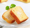 Pound cake Royalty Free Stock Photography