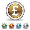 pound icon Stock Image