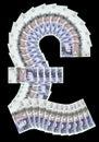 Image : Pound symbol new notes adoption