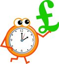 Pound time Stock Image