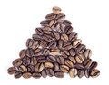 A pound of well roasted arabica Stock Images