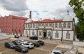 Pousada of porto portugal june or historic state run hotel in the center Stock Photos
