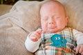 Pouting Baby Boy Royalty Free Stock Photo