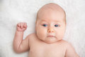 Pouting Baby Face Royalty Free Stock Photo