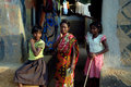 Poverty in India Royalty Free Stock Photography