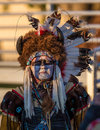 Pow-wow Dancer Royalty Free Stock Photo