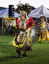 Pow-wow Dancer Royalty Free Stock Photo