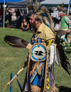 Pow Wow Dancer Royalty Free Stock Photo