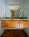 Powder room interior. Stock Photos