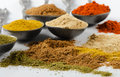 Powder spices Stock Images