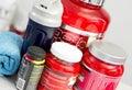 Powder supplements Royalty Free Stock Photo