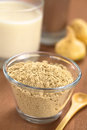 Powdered Maca Royalty Free Stock Images