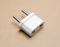 Power Adapters. EU plugs adaptor Royalty Free Stock Photo