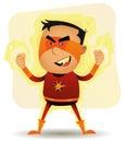 Power Boy - Comic Superhero