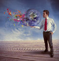 Power in business Royalty Free Stock Photo