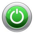 Power Button Icon / EPS Royalty Free Stock Photo