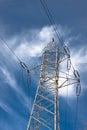 Power construction Stock Photo
