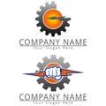 Power Gear logo Concept Logo
