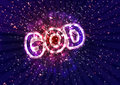 Power of god the praise lord Royalty Free Stock Photos