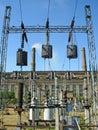 Power installation Royalty Free Stock Photo