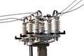 Power Live Insulators Isolated...