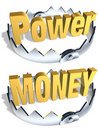 Power Money Trap Royalty Free Stock Images