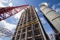 Power Plant Construction Royalty Free Stock Photo