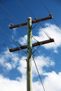Power pole Royalty Free Stock Photos