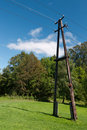 Power pole Stock Photography