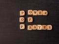 Power of prayer Royalty Free Stock Photo