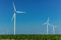 Power Producing Windmills Royalty Free Stock Photo