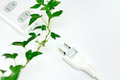 Power strip. Royalty Free Stock Images