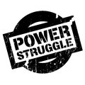 Power Struggle rubber stamp