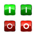 Power Switch icons, buttons