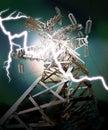 Power Transmission Line Royalty Free Stock Photo