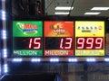 Powerball Jackpot Royalty Free Stock Photo