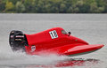 Powerboat racing Royalty Free Stock Images
